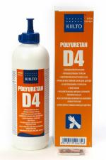 KIILTO D4  Universalūs, atsparūs atmosferos poveikiui, poliuretaniniai klijai