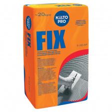 Kiilto Fix sustiprinti plytelių klijai 20 kg.