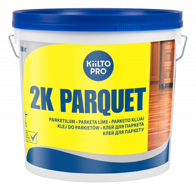 KIILTO 2K Parquet dviejų komponentų, greitai kietėjantys poliuretaniniai klijai